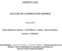 Les cles de la demolition durable